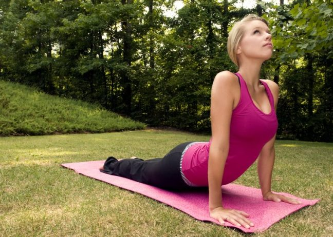 Building muscle with yoga