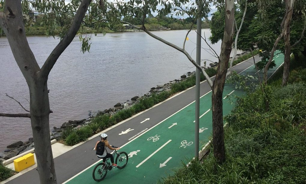 ride bicycle and cycle in Brisbane